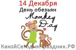 День обезьян - Monkey Day