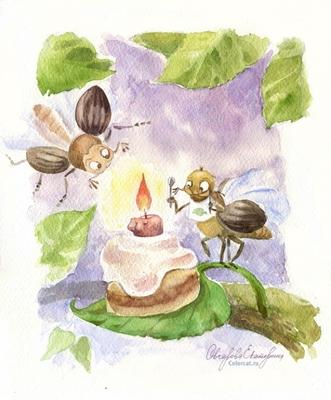 День рождения майского жжжжука