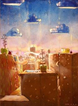 День восходящего солнца в шкафной стране